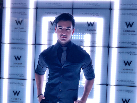 THE OFFICIAL LAUNCH OF THE PERCEPTION AT W LONDON