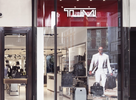 TUMI OPENS NEW TRAVEL-LIFESTYLE BOUTIQUE IN LONDON