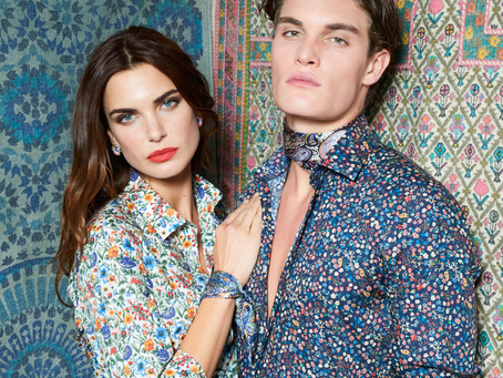 FLORALS IN FULL BLOOM AT T.M. LEWIN
