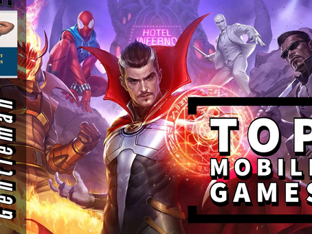 TOP 6 MOBILE GAMES FOR GEEKS