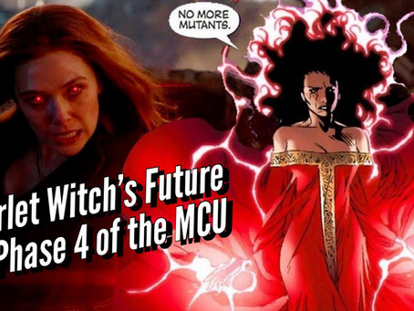 VIDEO: SCARLET WITCH'S FUTURE IN PHASE 4 OF THE MCU & THE TOP 4 SPF MOISTURIZERS