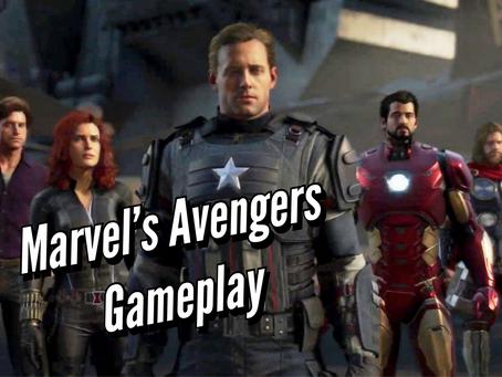 VIDEO: MARVEL'S AVENGERS GAMEPLAY
