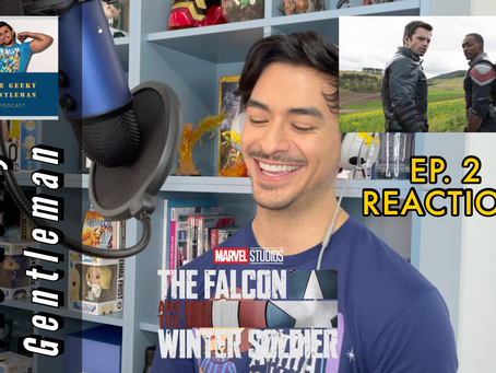THE FALCON & THE WINTER SOLDIER EP. 2 REACTION VIDEO