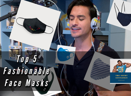 THE TOP 5 FASHIONABLE FACE MASKS FOR MEN