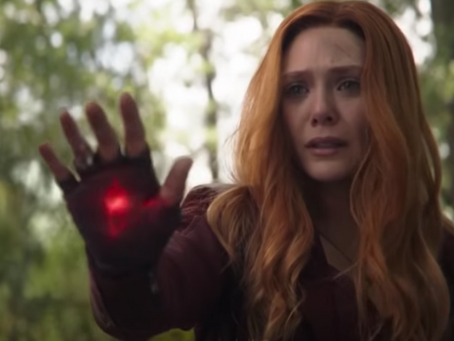 SCARLET WITCH & VISION CARRY THE EMOTIONAL ARC OF AVENGERS: INFINITY WAR
