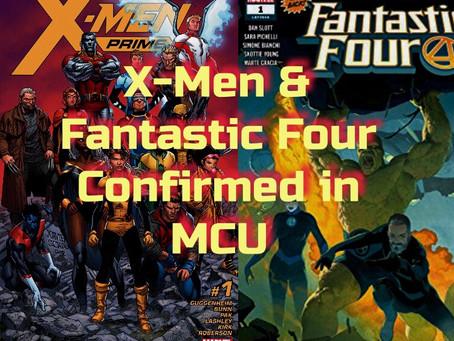 DISNEY CONFIRMS X-MEN & FANTASTIC FOUR IN MCU