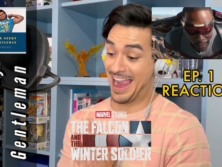 THE FALCON & THE WINTER SOLDIER EP. 1 REACTION VIDEO