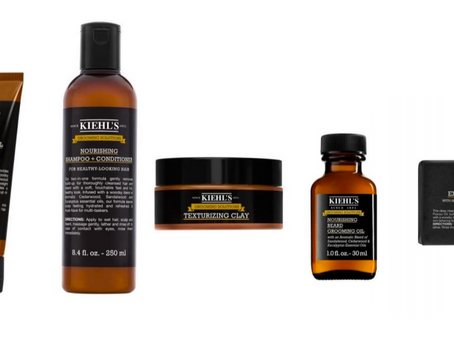 KIEHL'S INTRODUCES NEW MEN'S GROOMING SOLUTIONS LINE