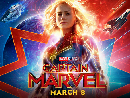 CAPTAIN MARVEL TRAILER THOUGHTS