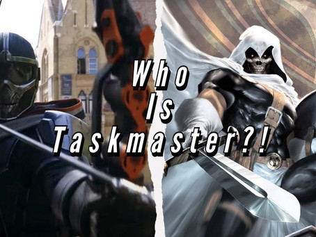 VIDEO: WHO IS TASKMASTER?!