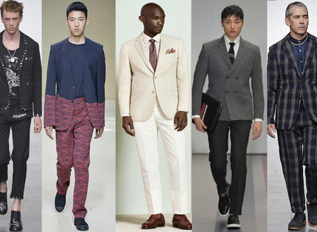 Check out the top suit styles for spring/summer 2017