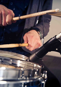 Recording Drummer