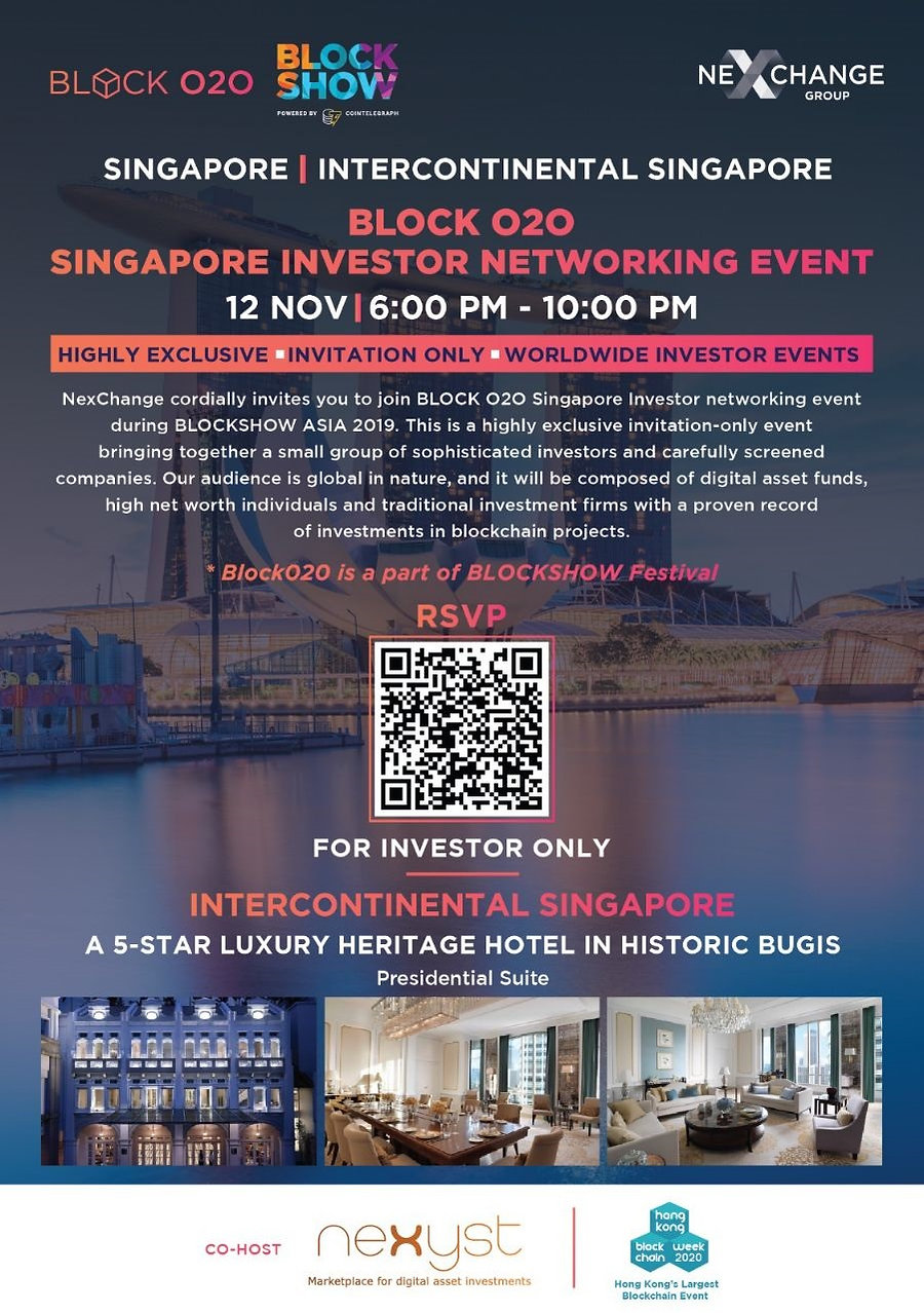Block O2O Investor Networking Meeting.jp