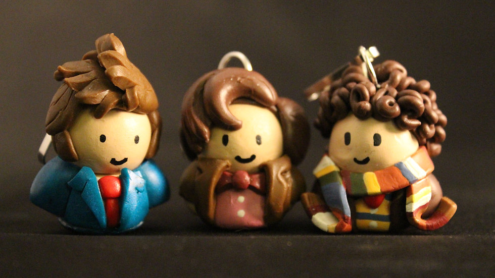 'Doctor Who Series' Doctor Chibi Charms