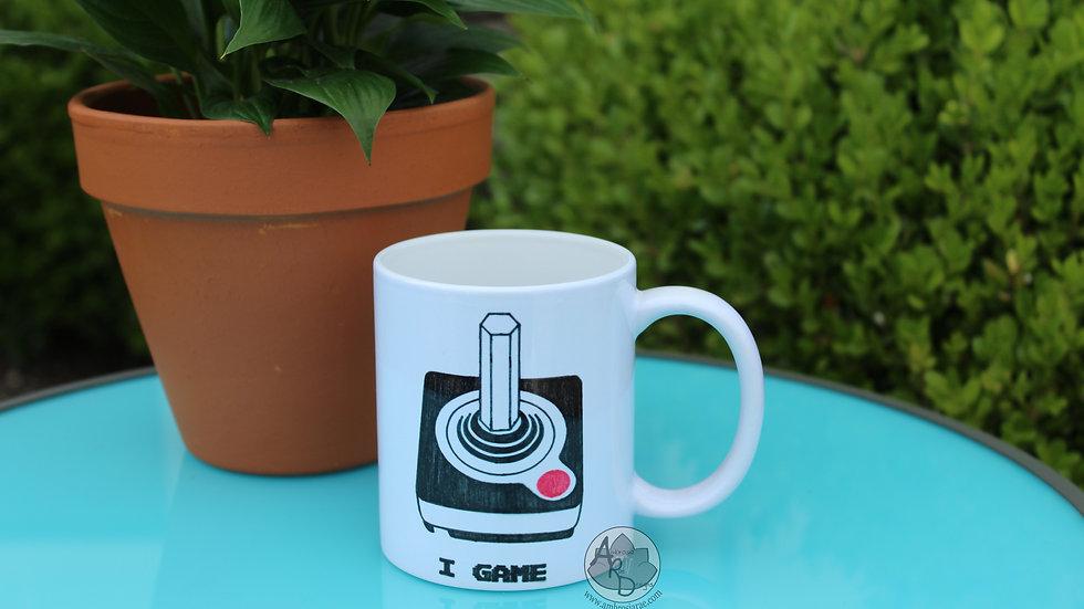 'I Game' Atari Coffee Mug