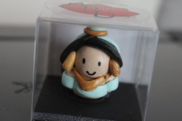 Jasmine Princess Polymer Clay Chibi Charm