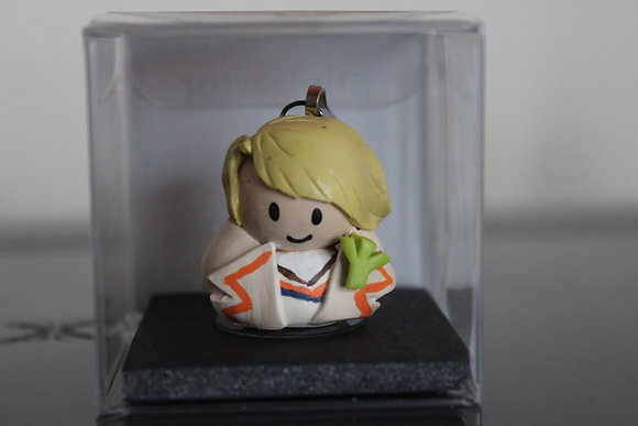 5th Doctor Who Polymer Clay Chibi Charm