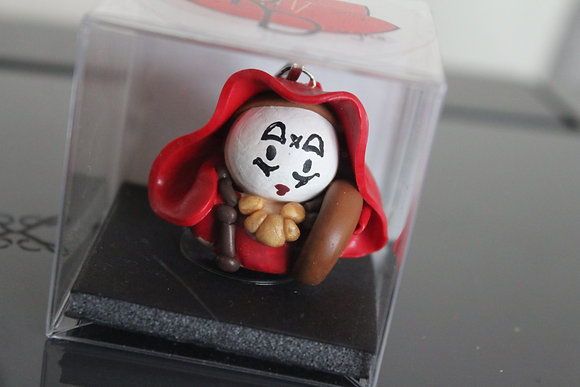 Syballine Sister Dr Who Polymer Clay Chibi Charm