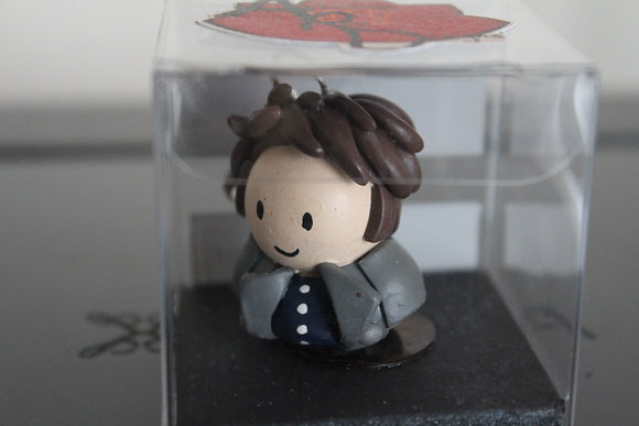 Cpt. Jack Harkness Dr Who Polymer Clay Chibi Charm