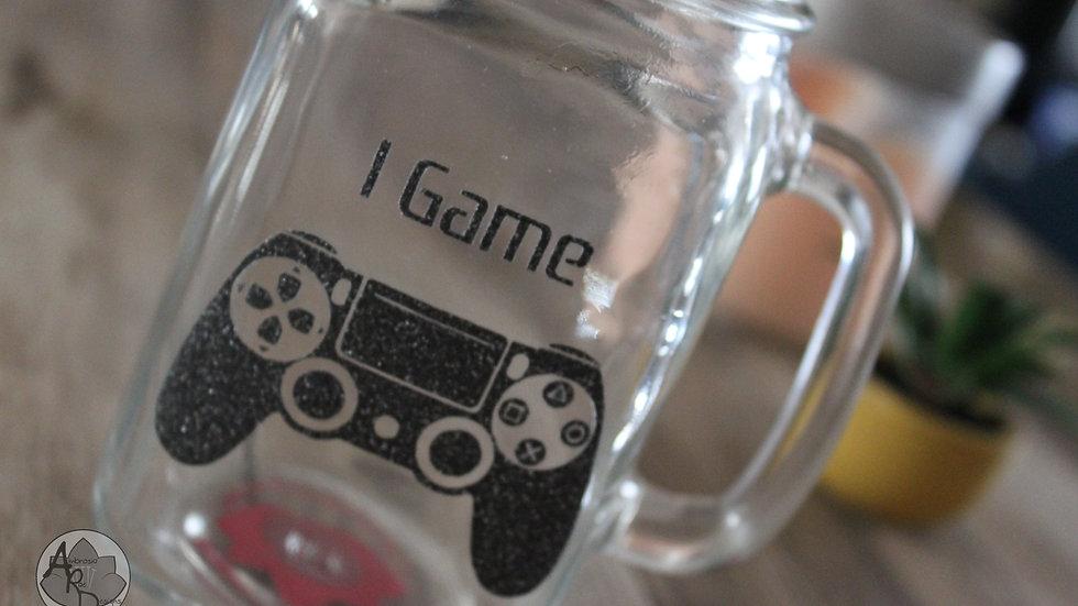 I GAME Mason Jar Mug