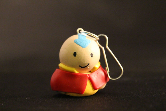 Aang Airbender Polymer Clay Chibi Charm