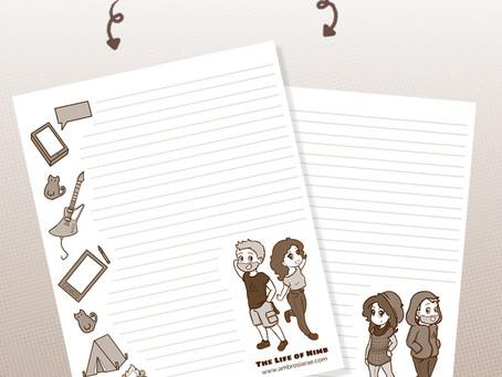 BONUS CONTENT - November Printable Stationary