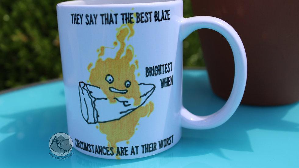 Calcifer Blaze Coffee Mug