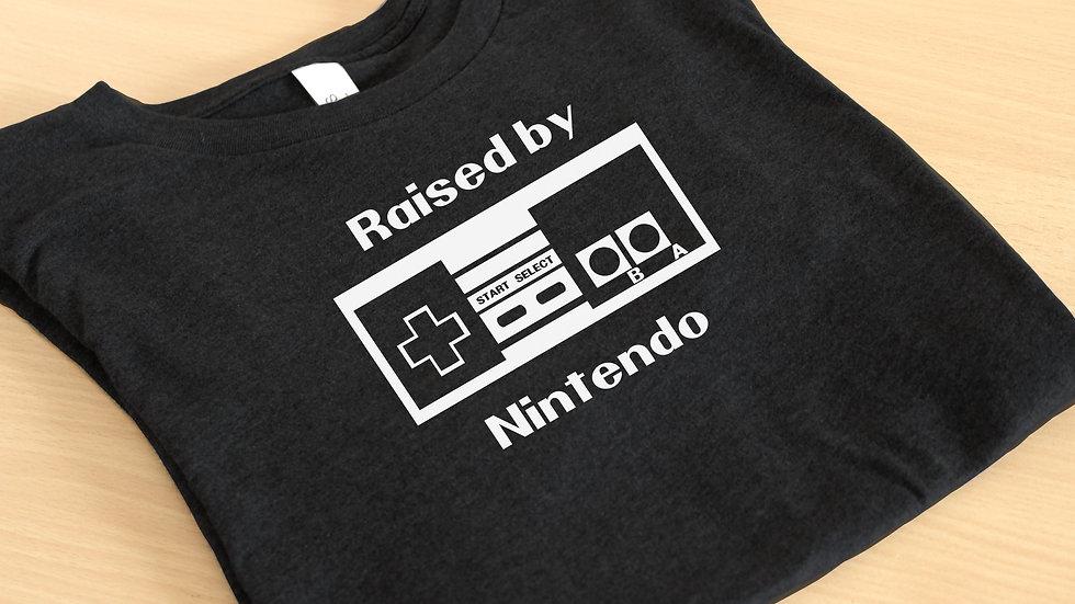 'Raised By Nintendo' Graphic Tee