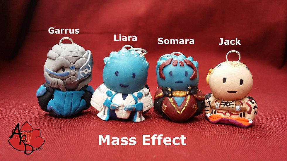 'Mass Effect Series' Chibi Charms