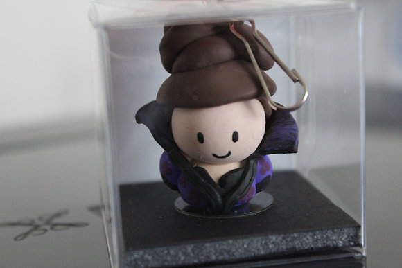 Evil Queen Polymer Clay Chibi Charm