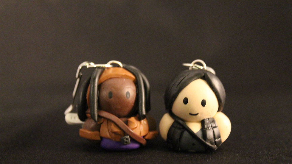 'The Walking Dead' Chibi Charms