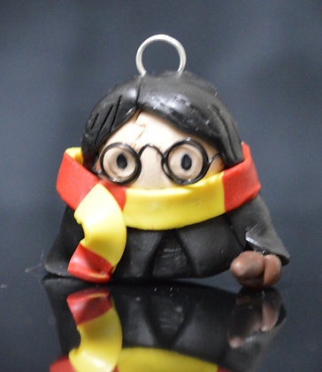 Harry Potter Polymer Clay Chibi Charm