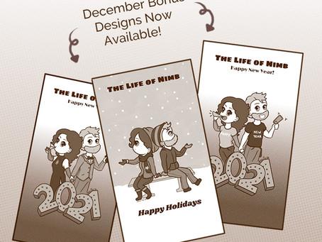 BONUS CONTENT: December Holiday Downloads 2020