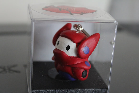 Baymax Big Hero Six Polymer Clay Chibi Charm