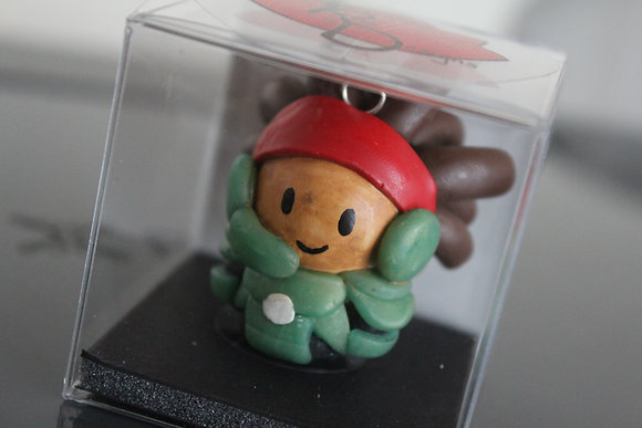 Wasabi Big Hero Six Polymer Clay Chibi Charm