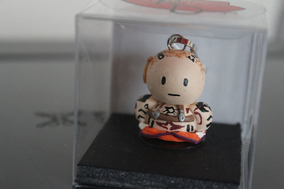 Jack Mass Effect Polymer Clay Chibi Charm
