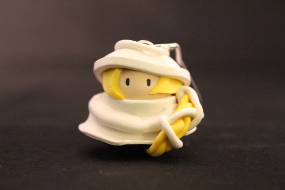 Sheik Legend of Zelda Polymer Clay Chibi Charm