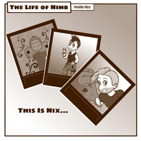NIMB Bonus Comic - Nix's Profile Pics!