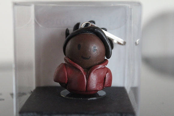 Martha Jones Dr Who Polymer Clay Chibi Charm