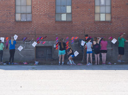 CAB Community: Yarn Mural