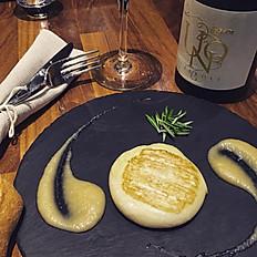 Tomino del Boscaiollo queso italiano con crema de Sandía