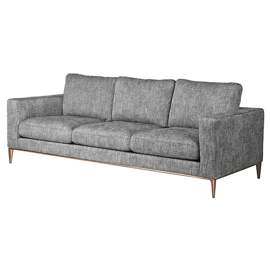 Mindy Grey 3 Seater Sofa