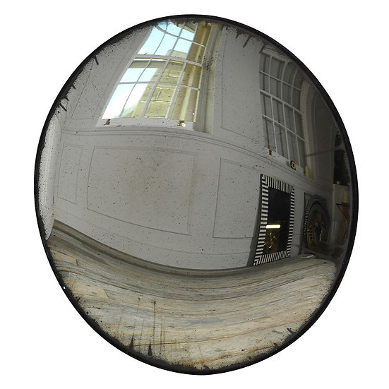 Convex Antique Mirror