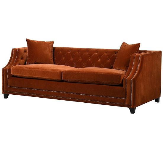 Burnt Orange Sofa Bed