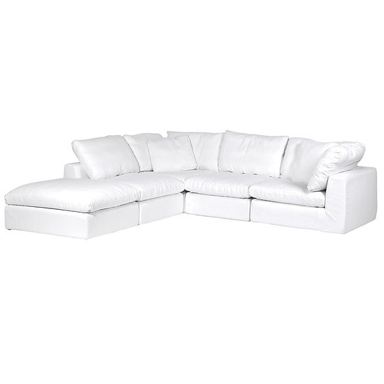 Ryan White Corner Sofa