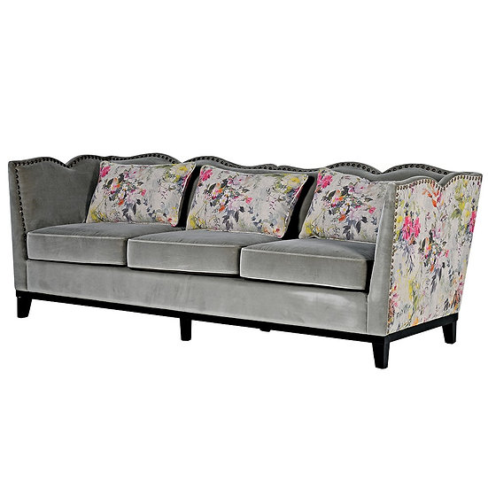 Broughton Zinc 3 Seater Sofa