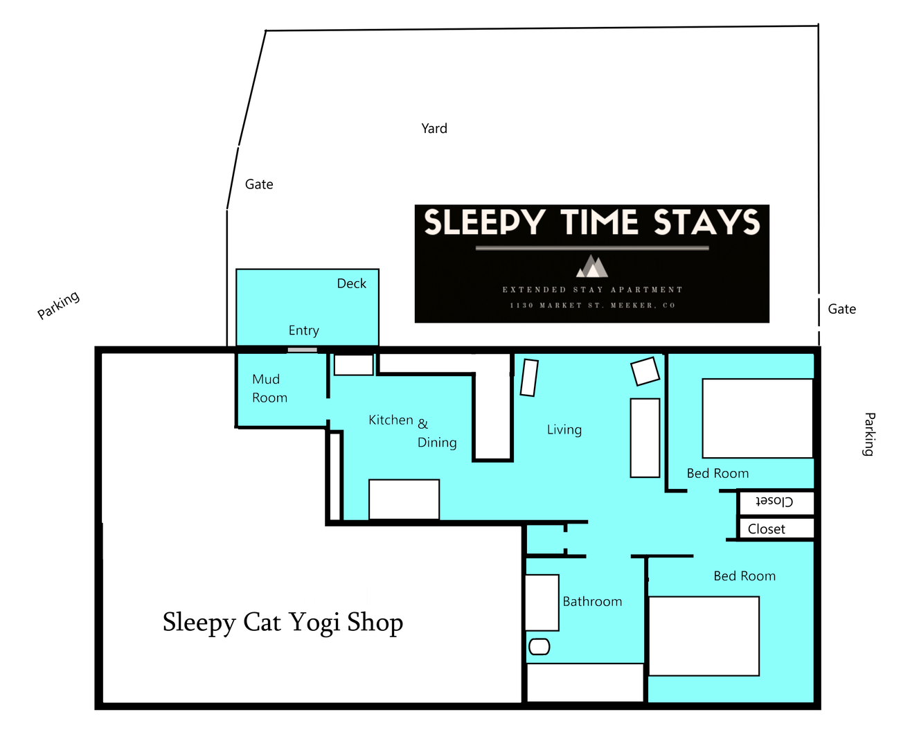 Sleepy Time Stays Apartment Layout.png