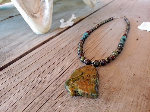 Picasso Jasper African Turquoise