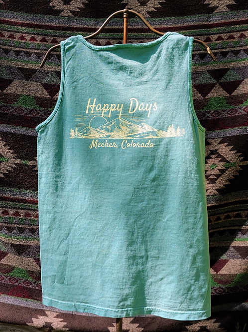 Happy Days Unisex Pocket Tank