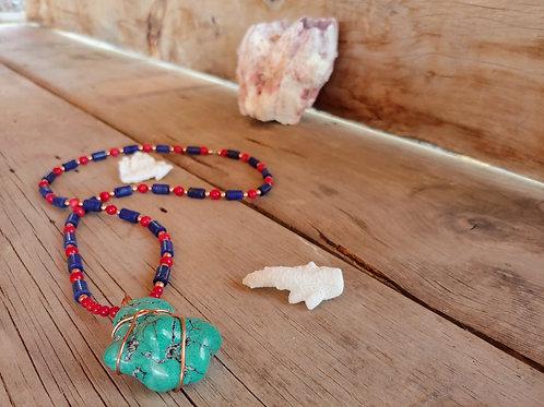 Turquoise, Lapis & Coral